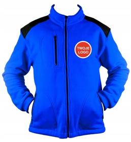 POLAR Premium /Bluza polarowa z haftem LOGO 10 szt