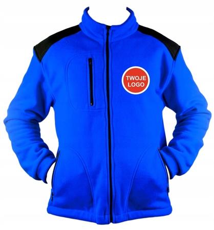 POLAR Premium /Bluza polarowa z haftem LOGO 10 szt (1)
