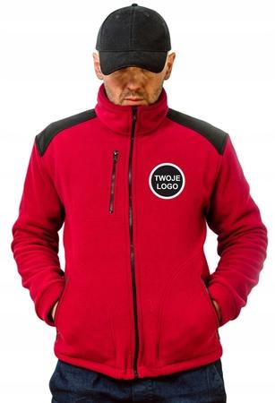 POLAR Premium /Bluza polarowa z haftem LOGO 10 szt (2)