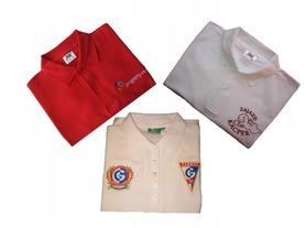 Koszulka POLO z Twoim LOGO- 10 szt - HAFT Koszulki