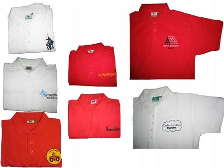 Koszulka POLO z Twoim LOGO- 10 szt - HAFT Koszulki (5)