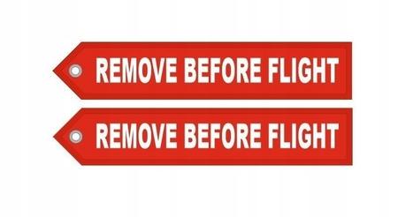 Brelok RBF Zawieszka REMOVE BEFORE FLIGHT XXL 25cm (2)