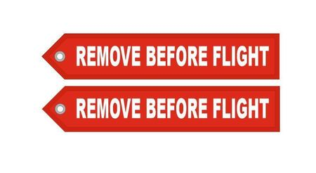 Brelok RBF Zawieszka- REMOVE BEFORE FLIGHT (2)