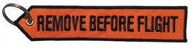 Brelok RBF Zawieszka- REMOVE BEFORE FLIGHT orange