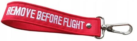 Mini Smyczka RBF karabinczyk- REMOVE BEFORE FLIGHT (1)