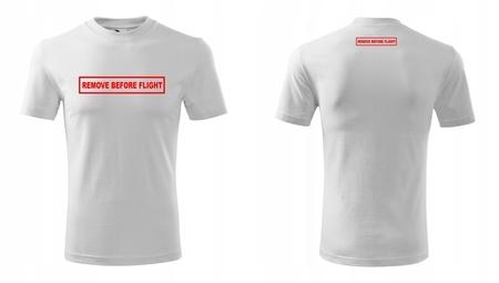 Koszulka REMOVE BEFORE FLIGHT męska (2)