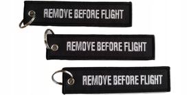 Brelok RBF Zawieszka- REMOVE BEFORE FLIGHT czarna