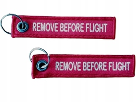 Micro Brelok RBF Zawieszka- REMOVE BEFORE FLIGHT