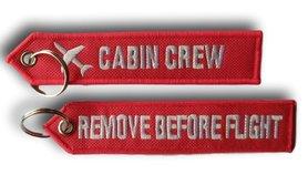 Brelok Zawieszka- CABIN CREW + RBF