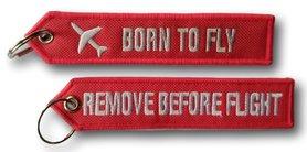 Brelok Zawieszka- BORN TO FLY + RBF