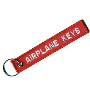 Brelok Zawieszka- AIRPLANE KEYS gadżet lotniczy (1)